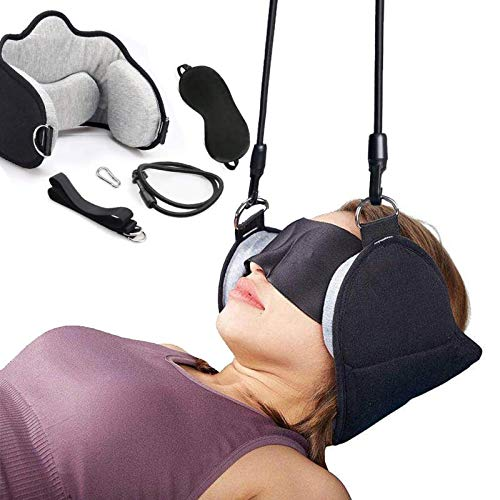 Portable Neck Head Hammock Cervical Traction Device