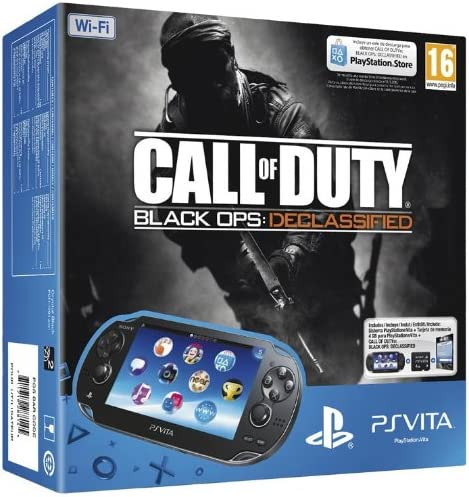 PlayStation Vita (PS Vita) - Console [Wi-Fi] con Call of Duty: Black Ops (via PSN) e Memory Card 4 GB [Bundle]