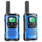 walkie talkies for kids, 22 Channel 2 Way Radio 3 Mile Long Range Kids Toys & Handheld Kids Walkie Talkies, Best Gifts & Top Toys for Boy & Girls Age 3 4 5 6 7 8 9 For Outdoor Adventure Game, Boy Tous