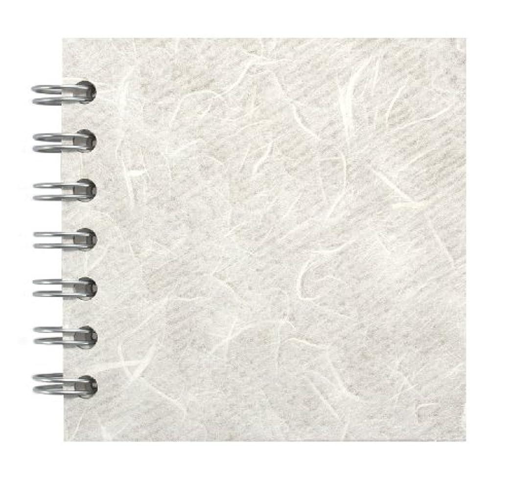 Zen Pink Pig, 4 x 4 Inch Square Sketchbook   35 White Sheets, 100 Pound   White