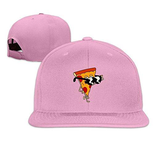 LUXIR Unisex tío Abuelo Pizza Steve Gorras de béisbol Negro