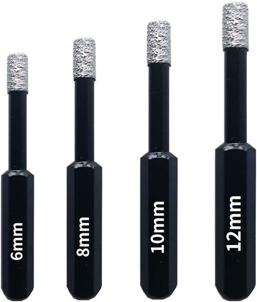 ASNOMY 4 Pieces Max 68% OFF Diamond Drill with Bits Denver Mall bit Ceramic Tile