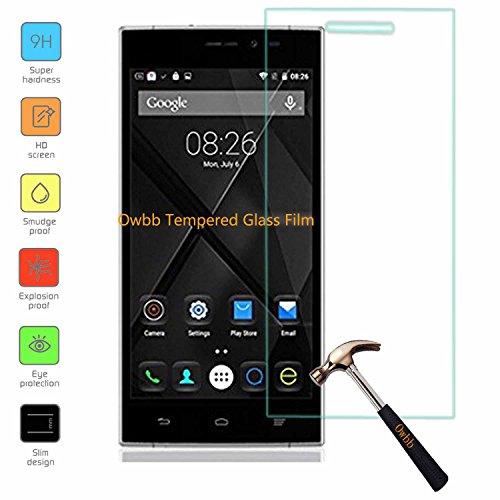 Owbb Glas Display Schutzfolie für Doogee F5 Smartphone Screen Panzerglas Protector Hartglas Schutzfolie Ultar Clear