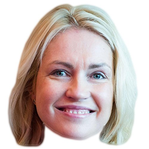 Celebrity Cutouts Manuela Schwesig Maske aus Karton