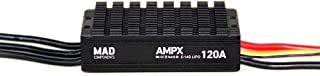 MAD COMPONENTS AMPX 120A (5S-14S)-140g Motor ESC Speed Controller for The multirotor Quadcopter Drone RC Hobby rig