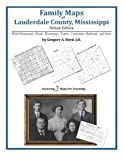 Family Maps of Lauderdale County, Mississippi