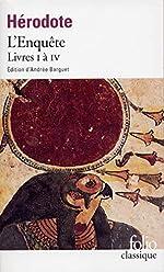 L'Enquête (Livres I à IV) de Hérodote