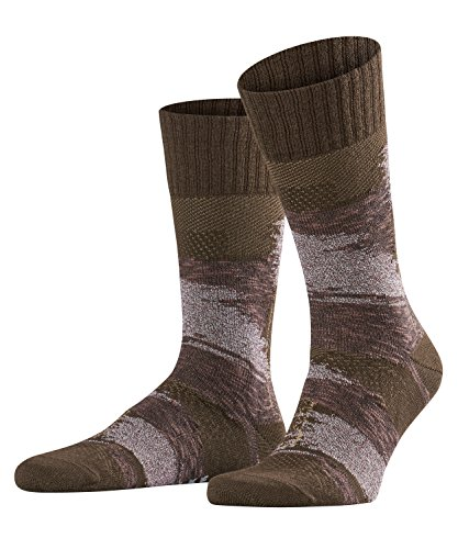 Falke Artisan Patch Chaussette Homme, Gris, FR : M (Taille Fabricant : 39-42)