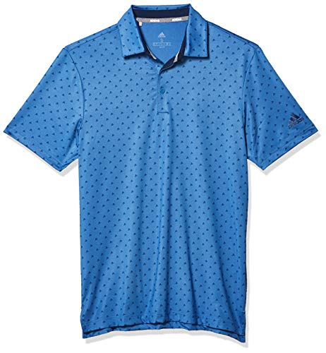 adidas Golf Ultimate365 Badge of Sport Polo Shirt, Trace Royal/Collegiate Navy, Large