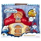Smurfs Mushroom House with Papa Smurf