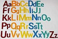フェルトフランネルボード アルファベット文字 数字 シンボル デラックスセット 巨大 3.5フィート 150個以上 上下ケース 数学記号付き 壁掛け インタラクティブプレイキット マグネットなし 静音本 Supplemental Set