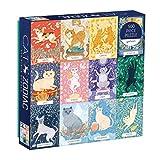 Galison Cat Zodiac 500 Piece Puzzle, Multicolor, 1 EA