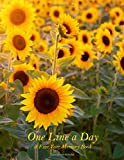 "One Line a Day: A Motivational and Inspirational Five Year Memory Book €"" Sunflower Field Cover"
