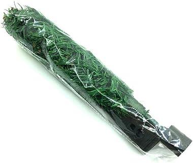 Nicetruc 45cm Artificial de Abeto de Navidad con bisagras Ligera Árbol con Soporte del árbol de Navidad de plástico