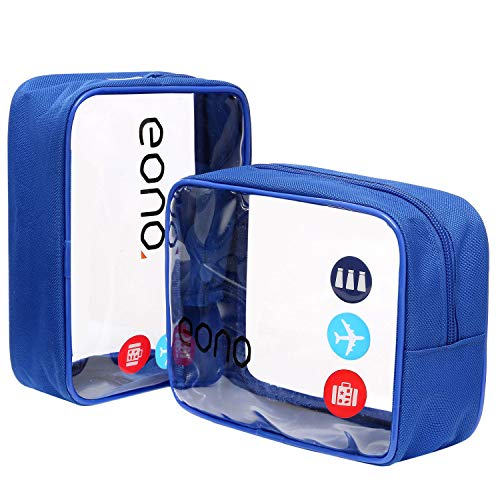 Eono by Amazon - Bolsas Aseo Transparente Neceser