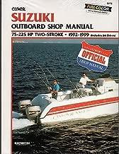 1992-1999 CLYMER SUZUKI OUTBOARD 75-225 HP TWO STROKE SERVICE MANUAL B779