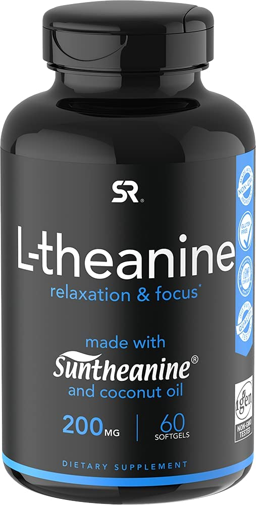 Suntheanine® L-Theanine 200mg Las Vegas Mall Double-Strength Cold-Press in Max 50% OFF