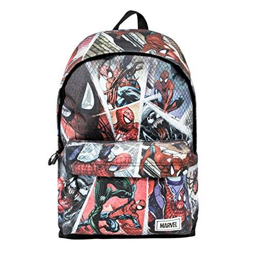 KARACTERMANIA Spiderman Collage - Mochila Freetime HS 1.1, Multicolor