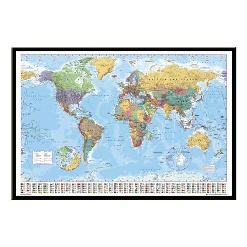 World Map Pin Board: Amazon.co.uk
