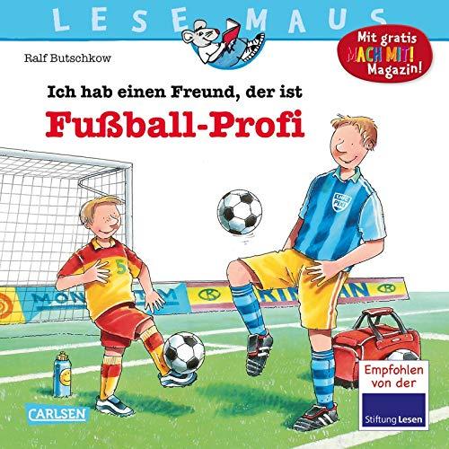LESEMAUS 36: Ich hab einen Freund, der ist Fußball-Profi (36)