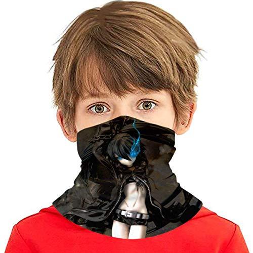 TUCBOA Neck Sweatband,High School DXD-Asia Argento Banda para El Cuello para Niños, Protectores Faciales Deportivos Ligeros para Entrenamiento Al Aire Libre,20x35cm