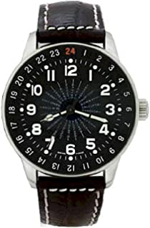 Zeno - Watch Reloj Mujer - X-Large Pilot World Timer - P554WT-a1