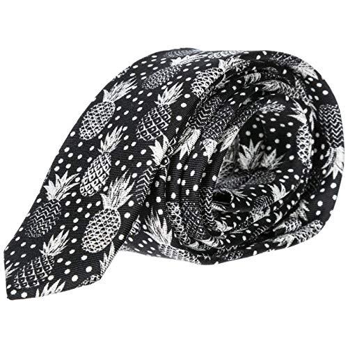 Dolce & Gabbana Seidenkrawatte Krawatte Herren Schwarz