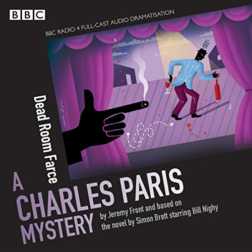 Charles Paris: Dead Room Farce audiobook cover art