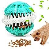 KOIYPW Hundespielzeug Ball, Haustier Welpen Puzzle Ball Nontoxic Bissbeständig, Hund Haustier Food Food Feeder Kau Zahnreinigungskugel für kleine mittelgroße Hunde (Color : Click to Select Blue)