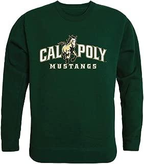 W Republic CPP Cal Poly Mustangs NCAA Mens College Crewneck Fleece Sweatshirt