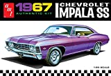 AMT 981 1967 Chevrolet Impala SS 1:25 Scale Plastic Model Kit - Requires Assembly