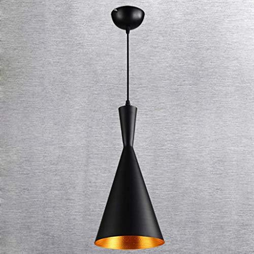 LYHY Lámpara de araña de Aluminio Creativa, misteriosa Forma de Instrumento Musical Indio, cafetería Interior, Restaurante, luz, Personalidad, Techo, iluminación Colgante, decoración, C