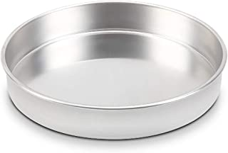 TOP KITCHEN Round Cake Pans NSF certified, Straight Sided, 14 Inch x 0.78 Inch