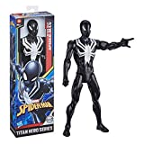 Marvel- Figura Spiderman Web Warriors Titan con 5 Puntos DE ARTICULACIÓN 30 CM Mod. SDOS, Color Multicolor. (Hasbro E73295L2)