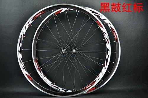 Roues de vélo avec jante 700C ultra légères 11 vitesses PASAK - Roulement scellé - Jusqu'à 1650g