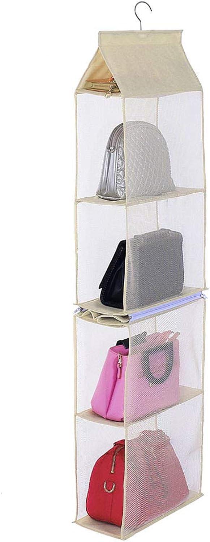 BeneAlways Detachable Purse Organizer Handbag Storage Hanging Bag Closet Space Saver