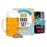 Oktoberfest Special Edition Bierbrauset zum selber brauen | Festbier im 5 Liter Fass | In 7 Tagen gebraut | Tolles Geburtstagsgeschenk für Männer | Braufässchen -