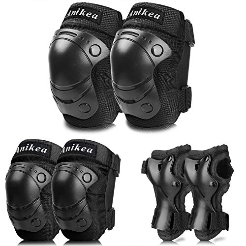 Kids Protective Gear,Knee Pads Elbow Pads Wrist Guards 3 in 1 Set for Inline Roller Skating Biking Cycling Sports Safe Guard