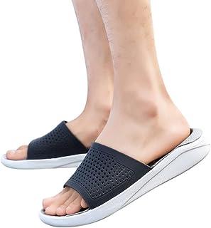 1d4c483e05f Zapatos para Hombre Cebbay Zapatos Casuales Transpirables recortables  Sandalias y Chanclas Aire Libre y Deportes