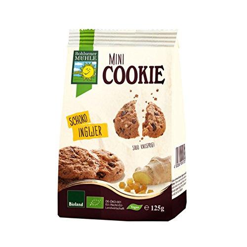 Bohlsener Mini Cookie Chocolate Y Jengibre Bio 125 Gr Cookies Bohlsener 400 g