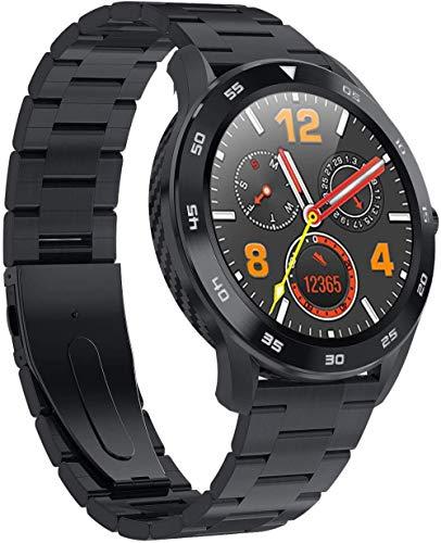 JSL Bluetooth relojes inteligentes para iPhone de moda de negocios ECG de monitoreo de la presión arterial sin conexión de pago inteligente reloj deportivo D-B