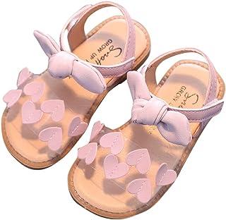 Hopscotch Baby Girls PVC Applique Heart al in Purple Colour