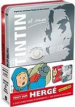 Coffret Herge : Tintin et moi / moi Tintin - Edition limitée 2 DVD / Box Herge: Tintin and I / Me Tintin - Limited Edition 2 DVD / Region 2 PAL DVD Set / Language: French / Subtitles: French, English, Dutch / 1st DVD 1 hour 14 minutes / 2nd DVD 52 minutes