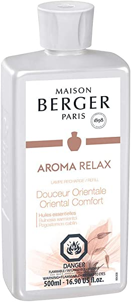 Oriental Comfort Lampe Berger Fragrance Refill For Home Fragrance Oil Diffuser Purifying And Perfuming Your Home 16 9 Fluid Ounces 500 Milliliters Aroma Relax Essential Oil Made In France