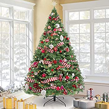 KingSo 7.5ft Artificial Christmas Tree Premium Spruce