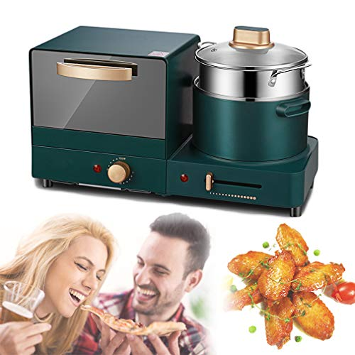 NEWFEIBIN Frühstücksmaschine Multifunktionale Elektroofen Kaffee Omelett Mit Timing-Funktion Für Nachmittagstee-Familienfeiern