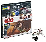 Revell 63613 Modellbausatz Star Wars Model Set 1:172-Republic Gunship im Maßstab 1:172, Level 3, orginalgetreue Nachbildung mit vielen Details