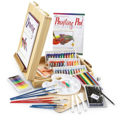 Royal & Langnickel Essentials 103 Piece All Media Artist Easel Set