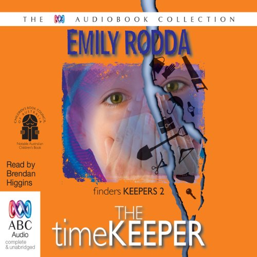 The Timekeeper audiobook cover art