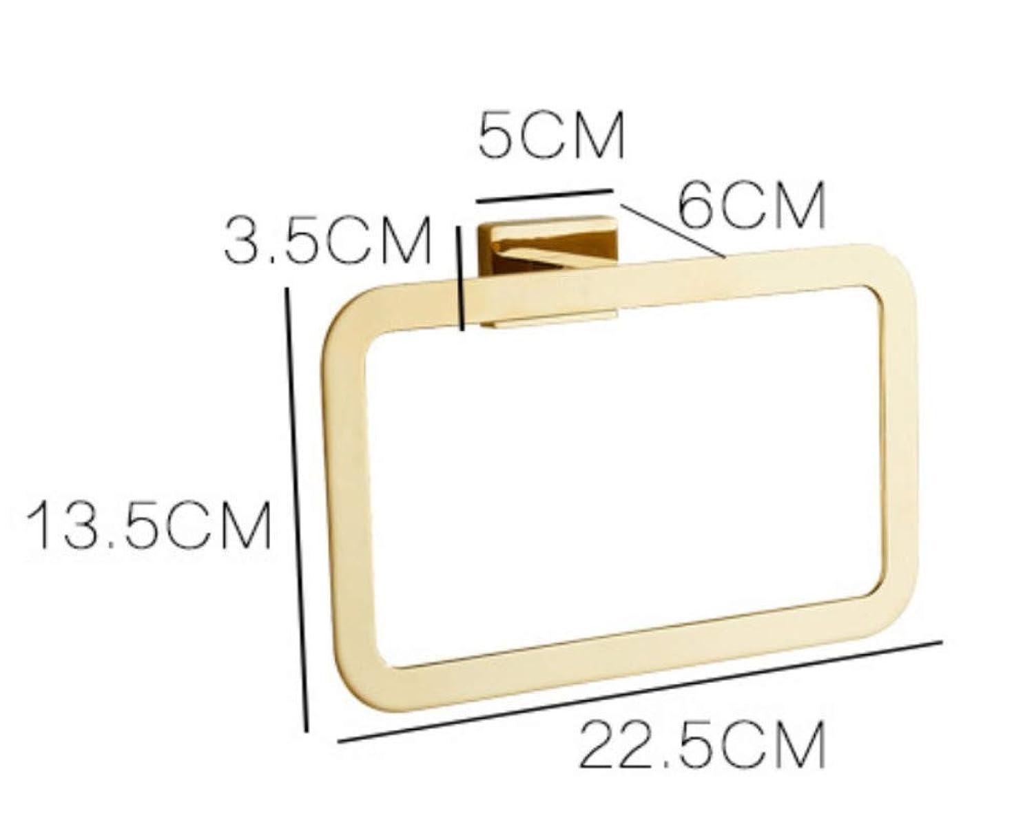 腹合併症策定するShelves Bathroom Towel Ring Zinc Alloy Sheet Metal Towel Hanging Ring Bathroom Hardware Pendant